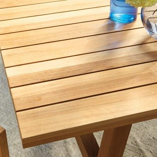 Martin Teak Tables Rectangular Dining Table