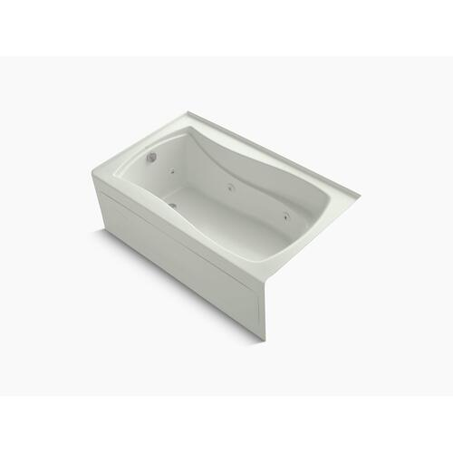 "Dune 60"" X 36"" Alcove Whirlpool With Integral Apron, Integral Flange, Left-hand Drain and Heater"