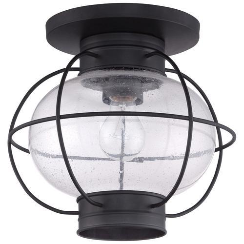 Quoizel - Cooper Outdoor Lantern in Mystic Black
