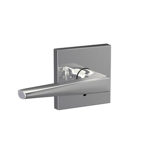 Custom Eller Non-Turning Lever with Collins Trim - Bright Chrome