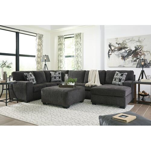 Ballinasloe Smoke Chaise Sectional