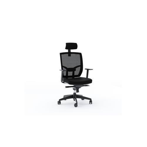 BDI Furniture - TC-223 Task Chair 223DHF Task Chair (Fabric) in Black
