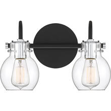 Andrews Bath Light in Earth Black