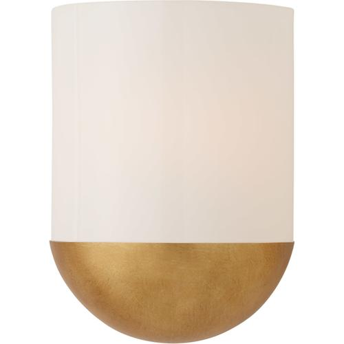Visual Comfort - Barbara Barry Crescent LED 8 inch Gild Sconce Wall Light, Small