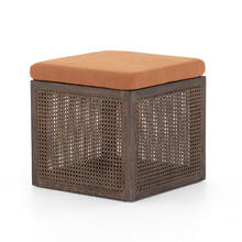 See Details - Savoy Rust Cover Ainsley Ottoman