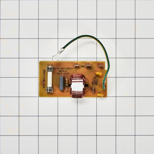 Microwave Noise Filter Board