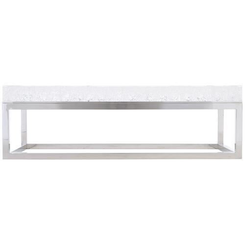 Aventura Rectangular Acrylic Cocktail Table