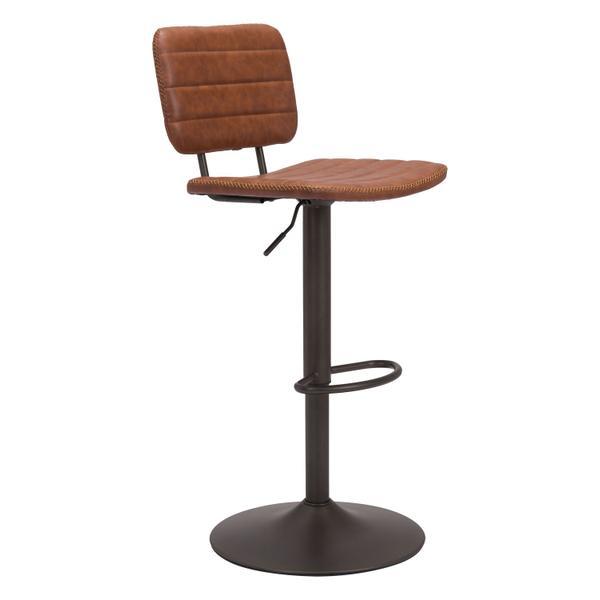 See Details - Holden Bar Chair Vintage Brown