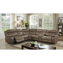 Page Sectional W/ Console Table