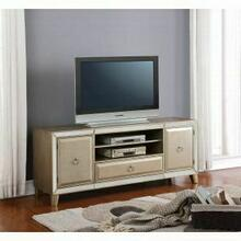 ACME Voeville TV Stand - 91203 - Antique Silver