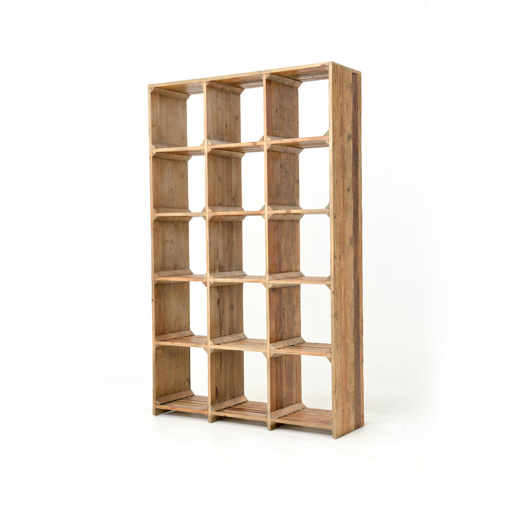 Hughes Large Open Bookcase