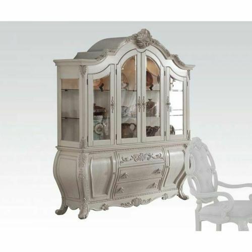 ACME Ragenardus Hutch & Buffet - 61284 - Antique White