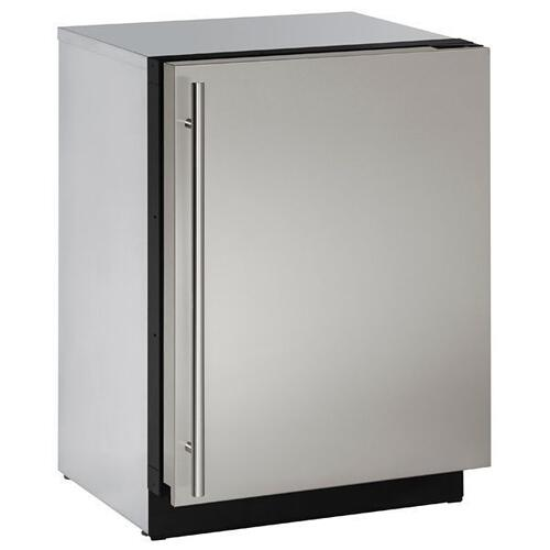 "24"" Freezer With Stainless Solid Finish (115 V/60 Hz Volts /60 Hz Hz)"
