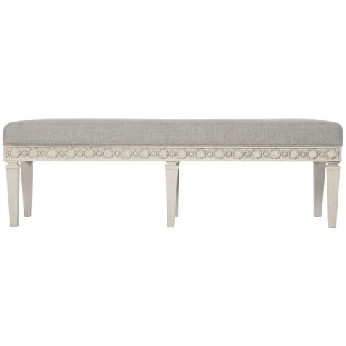Product Image - Allure Bench in Manor White (399)