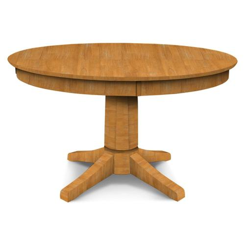 Round Pedestal Table (top only) / 10'' Transitional Pedestal