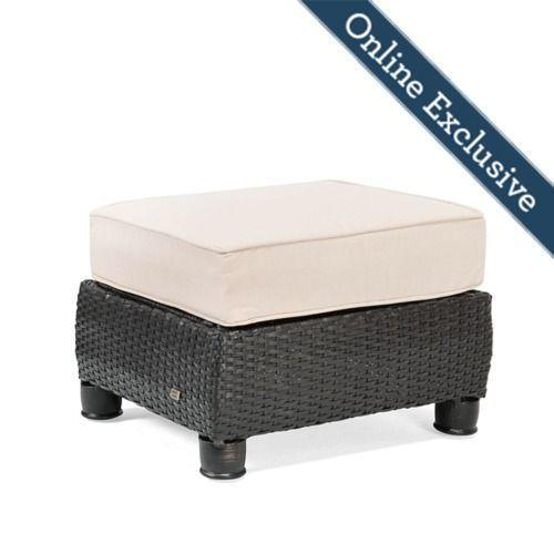Breckenridge Ottoman w/ Natural Tan Cushion
