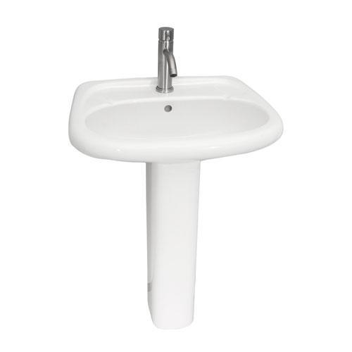 Flora Pedestal Lavatory - Single-Hole