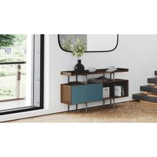 View Product - Margo 5211 Console in Toasted Walnut Marine