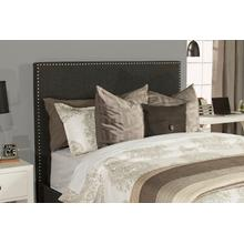 Megan Queen Headboard - Onyx Linen