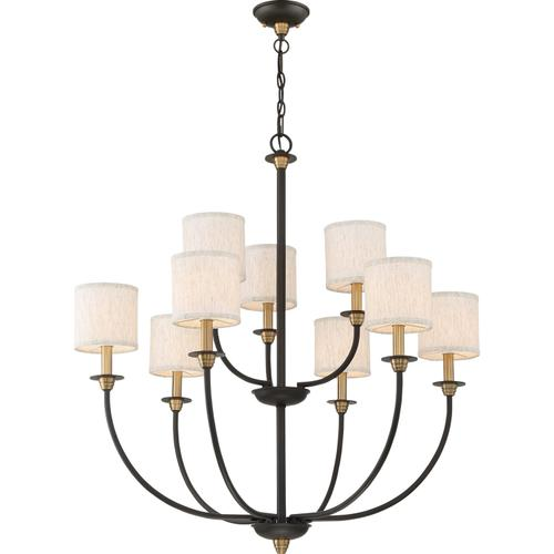 Quoizel - Audley Chandelier in Old Bronze