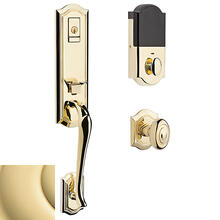Non-Lacquered Brass Evolved Bethpage Knob Handleset