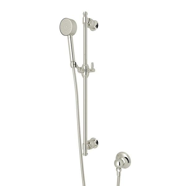 Polished Nickel Michael Berman Zephyr Single-Function Handshower Set