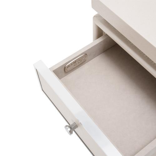 Amini - Vanity Desk Mirror W/bench (3pc)