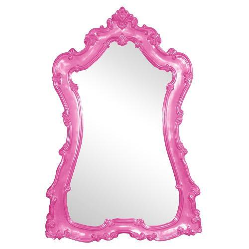 Howard Elliott - Lorelei Mirror - Glossy Hot Pink