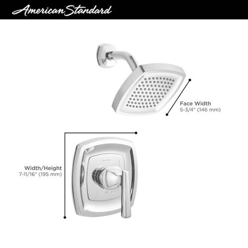 Edgemere Shower Only Trim Kit  1.8 GPM  American Standard - Polished Chrome