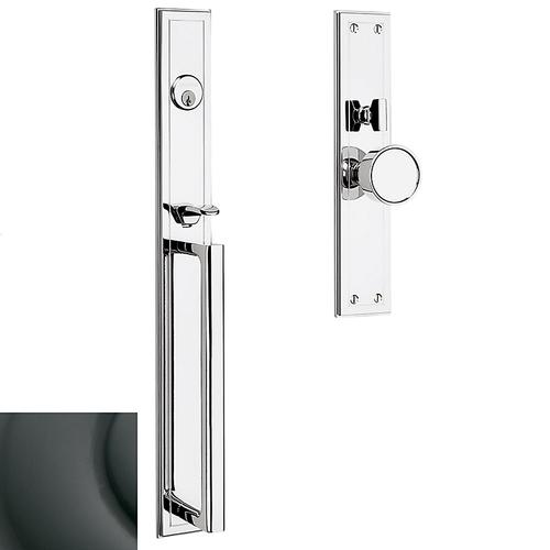 Oil-Rubbed Bronze Hollywood Hills Mortise Handleset Trim
