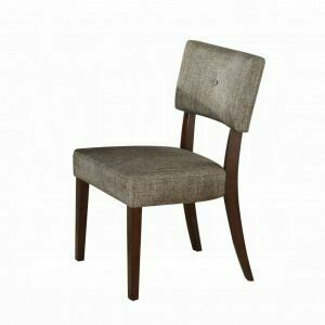 ACME Drake Side Chair (Set-2) - 16252 - Gray Fabric & Espresso
