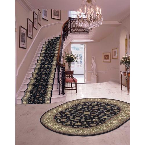 Nourison Rugs - Nourison 2000 2015 Navy Runner Broadloom Carpet