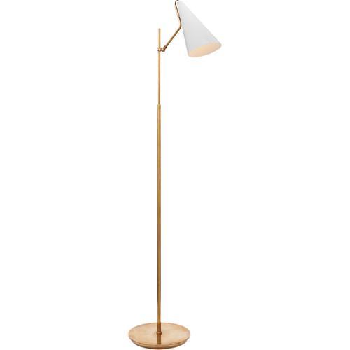 Visual Comfort - AERIN Clemente 47 inch 60.00 watt Plaster White Floor Lamp Portable Light