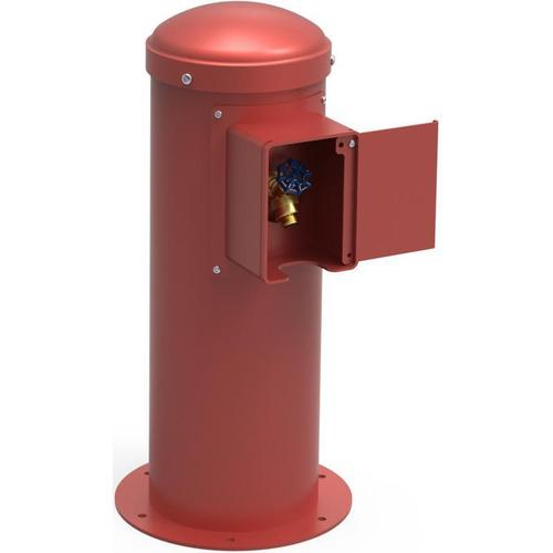 Elkay - Elkay Yard Hydrant with Locking Hose Bib Non-Filtered, Non-Refrigerated Red