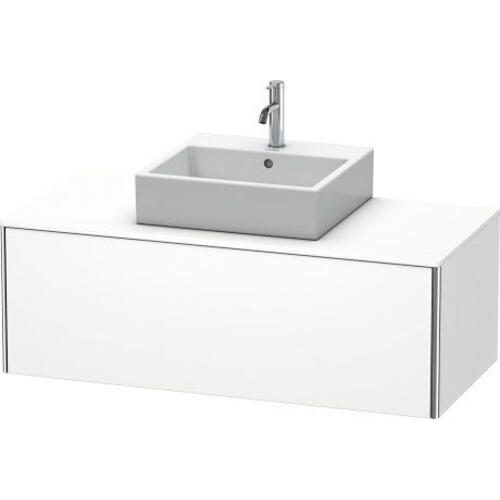 Vanity Unit For Console Wall-mounted, White Matte