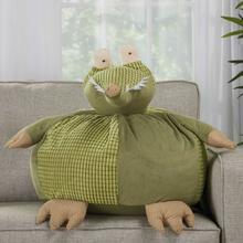 """Plushlines N1566 Green 18"""" X 18"""" Round Plush Animal"""