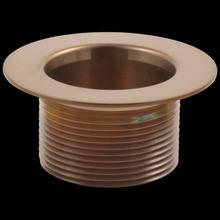 Brilliance Brushed Bronze Toe-Operated Waste Plug