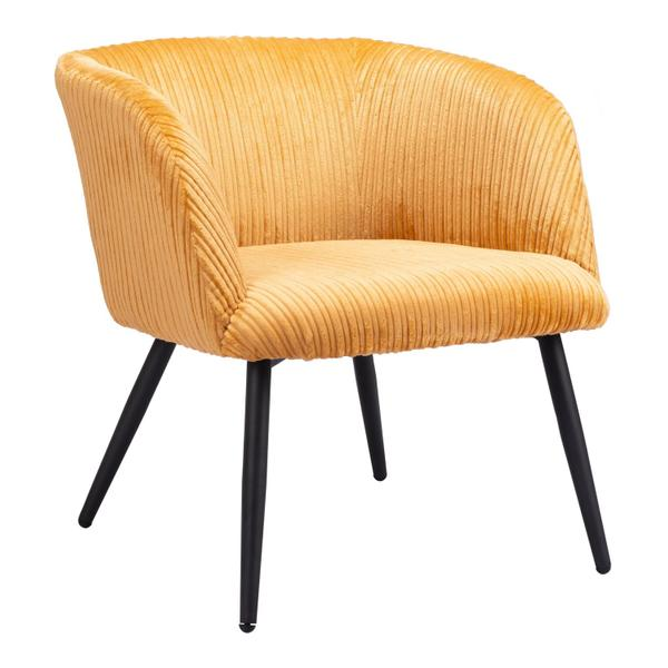 See Details - Papillion Accent Chair Yellow