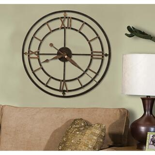 See Details - Howard Miller York Station Oversized Wall Clock 625299