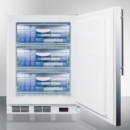 "Summit - 24"" Wide All-freezer, ADA Compliant"