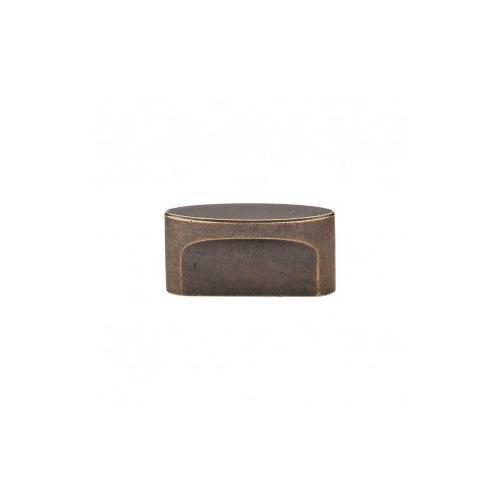 Product Image - Oval Slot Knob 1 1/2 Inch (c-c) - German Bronze
