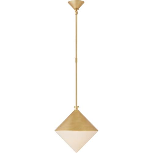 AERIN Sarnen LED 13 inch Gild Pendant Ceiling Light, Small