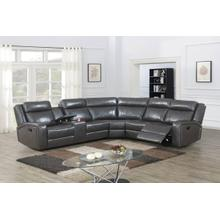 3-pc Manual Reclining Sectional