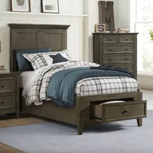 See Details - San Mateo Youth Twin Bed  Gray
