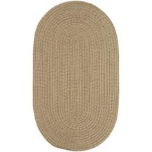 "Simplicity Flax - Oval - 20"" x 30"""