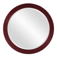 Virginia Mirror - Glossy Burgundy