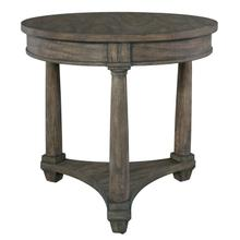 2-3504 Lincoln Park Round Lamp Table