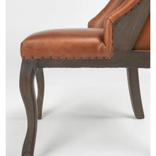 Lafayette Upholstered Wingback Dining Chair Hazel