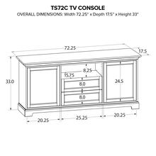 TS72C Custom TV Console