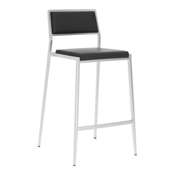 See Details - Dolemite Counter Chair Black